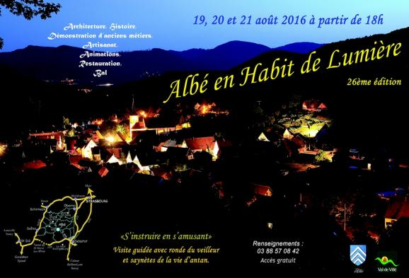 2016 08 19 26e edition albe en habit de lumiere