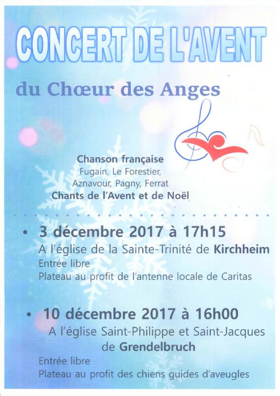 2017 11 09 concert de l avent du choeur des anges