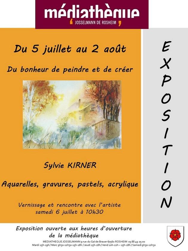 2019 06 28 exposition artistique sylvie kirner a rosheim