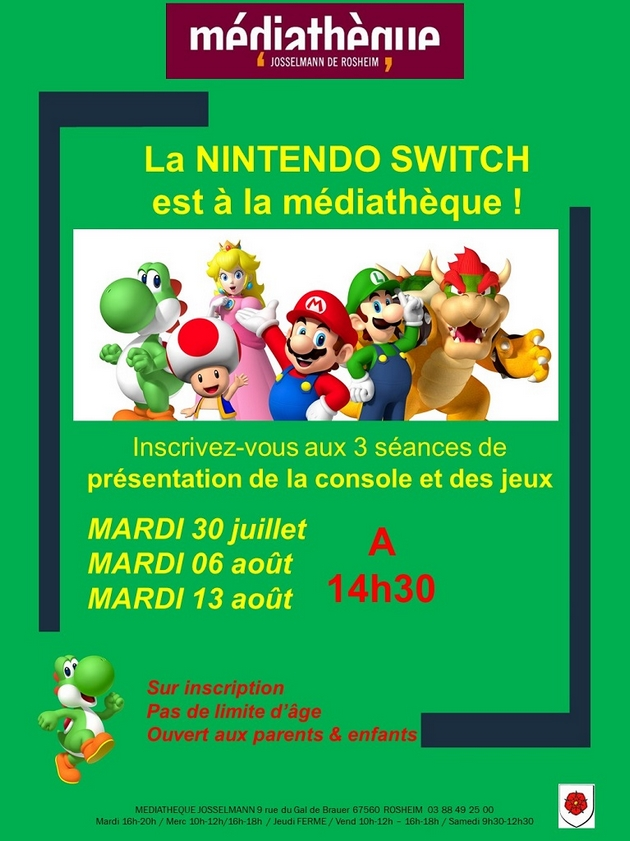 2019 07 19 la nintendo switch a la mediatheque