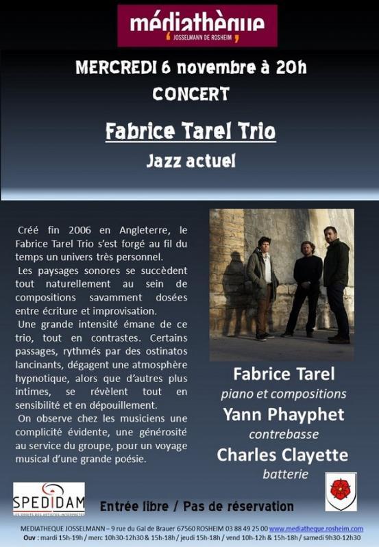 2019 10 28 concert fabrice tarel trio a rosheim