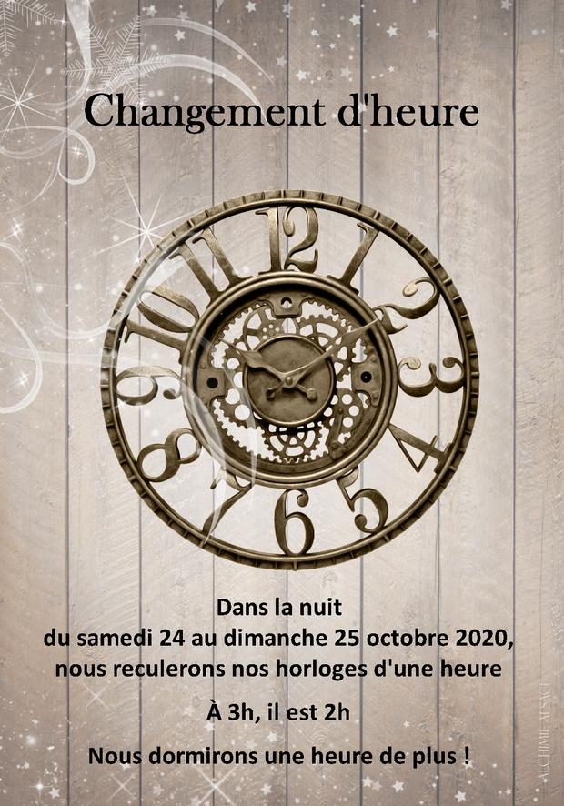 2020 10 24 changement d heure hiver 2020