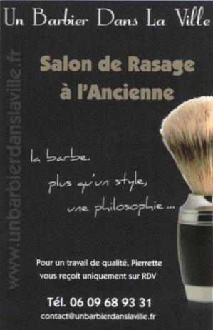 Un barbier dans la ville logo 1